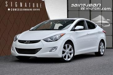Hyundai Elantra LIMITED **CUIR**TOIT OUVRANT**SIÈGES CHAUFFANTS** 2013