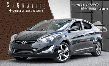 Hyundai Elantra Limited w/Navi / INT CUIR / TOIT OUVRANT 2014