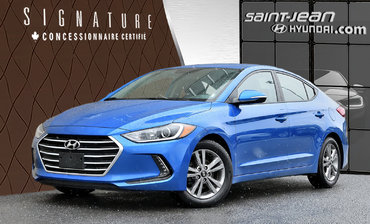 Hyundai Elantra GL / SIEGE CHAUFFANT, ANDROID AUTO, APPLE CARPLAY 2018