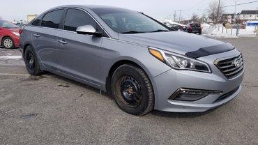 Hyundai Sonata GLS + VOLANT CHAUFFANT, CAMERA ET + 2015