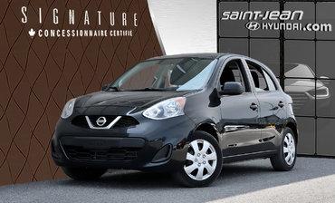 Nissan Micra SV /  AIR CLIM. / BLUETOOTH / CAMERA DE RECUL 2015
