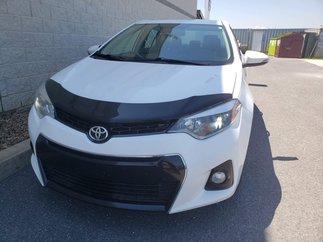 Toyota Corolla S / DÉMARREUR / INT CUIR / NAVIGATEUR 2014