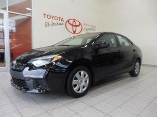 Toyota Corolla * AUTOMATIQUE * AIR * GROUPE ÉLECTRIQUE * 2014