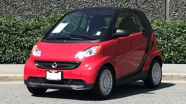 Fortwo Pure cpé