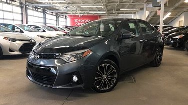 Corolla S/ Toit ouvrant / Cuir / Mags / Caméra Recul