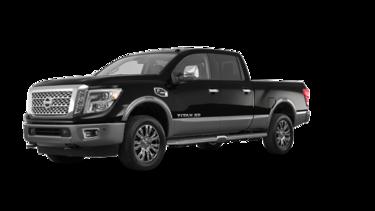 Titan Crew Cab XD Platinum 4x4 Two-Tone Diesel