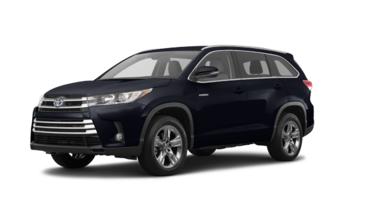 Highlander hybrid Limited CVT