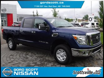 2017 Nissan Titan XD Diesel SV, Diesel, Cloth, Towing, Low KM, Clean