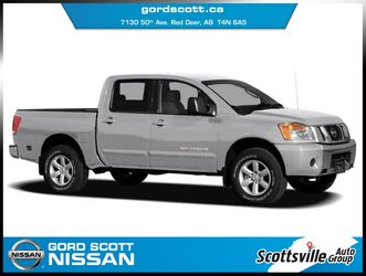 2009 Nissan Titan XE Crew 4WD, Cloth, Cruise, A/C, Auto