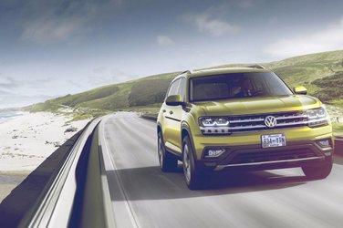 Le Volkswagen Atlas 2018 sera en concession au cours de l'été 2017!