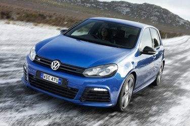 2015 Golf R On-Ice Test Drive