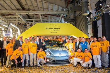 La Volkswagen Beetle prend officiellement sa retraite bien méritée