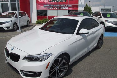 BMW 2 Series TOIT OUVRANT + CUIR + BLUETOOTH ++++ 2014