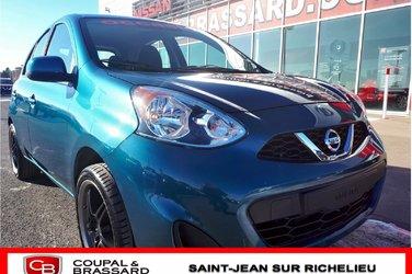 2017 Nissan Micra SV*BLUETOOTH*BAS MILLAGE*GROUPE ÉLECTRIQUE*