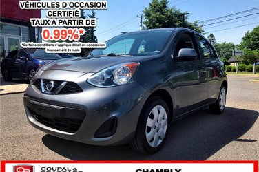 2017 Nissan Micra SV*1PROPRIO*JAMAIS ACCIDENTÉ*BLUETOOTH
