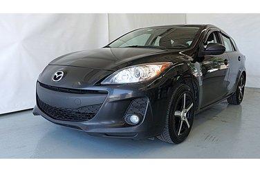 2012 Mazda Mazda3 GX SPORT MANUELLE GROUPE ÉLECTRIQUE MAGS!