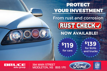Bruce Auto Group is Now a Licensed Rust Check Dealer