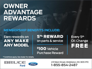 Bruce Ford Owner Advantage Rewards