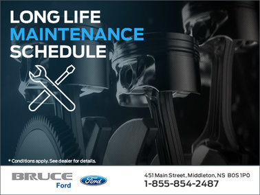 Ford Long Life Maintenance Packages