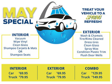 Treat your Vehicle to a Spring Refresh!