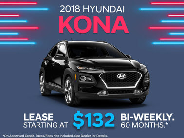 Lease the 2018 Kona