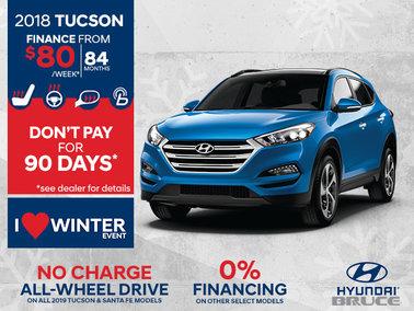 Finance the 2018 Tucson
