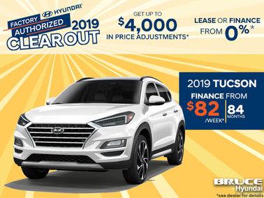 Finance the 2019 Tucson