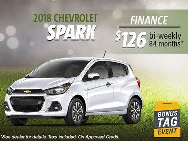 Finance the 2018 Spark