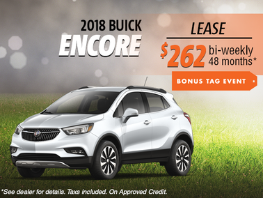 Lease the 2018 Buick Encore