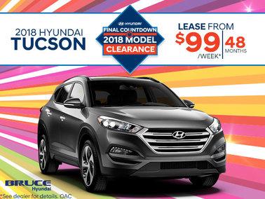Lease the 2018 Tucson