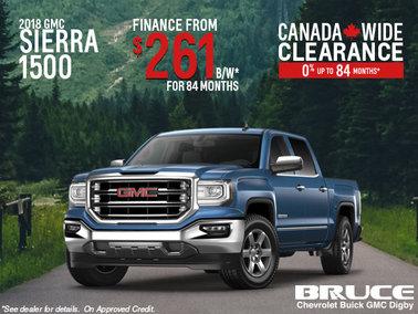 Finance the 2018 Sierra 1500