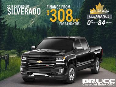 Finance the 2018 Chevy Silverado