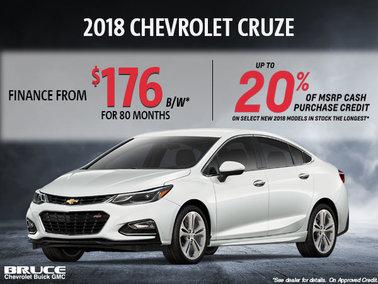 Finance the 2018 Cruze