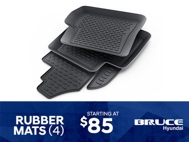 Rubber Mats starting at $85