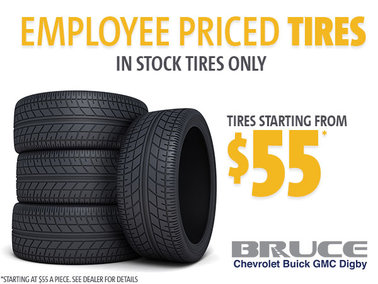 Employee Pricing on In Stock Tires!