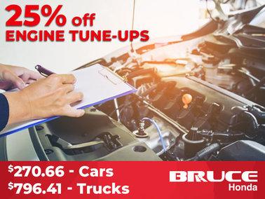 25% off Engine Tune-Ups
