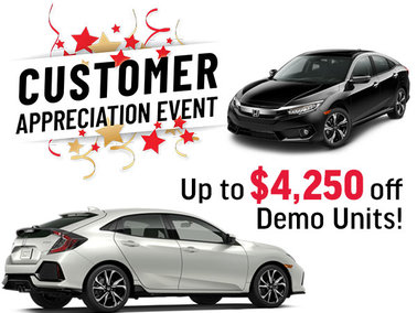 New Price Reductions on all Demos. Save up to $4,250!