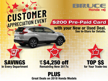 Customer Appreciation Sales Event