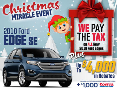 SAVE THE TAX on all New In-Stock 2018 Edges