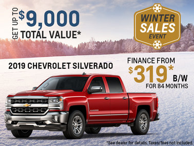 Get the 2019 Chevy Silverado!