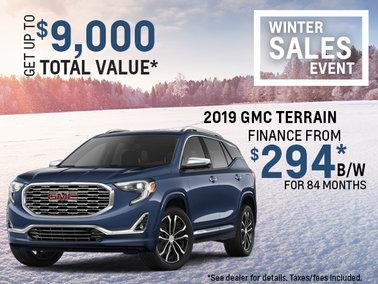 Get the 2019 GMC Terrain