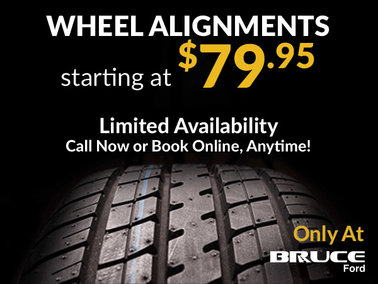 Wheel Alignments from $79.95