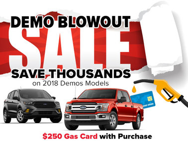 Save Thousands on a 2018 Demo Model