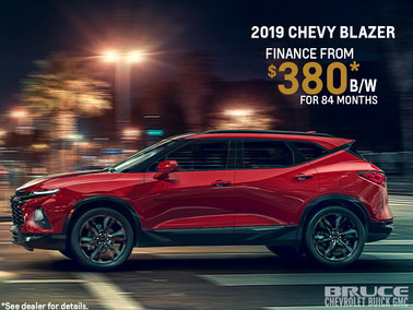 Introducing the 2019 Chevy Blazer RS