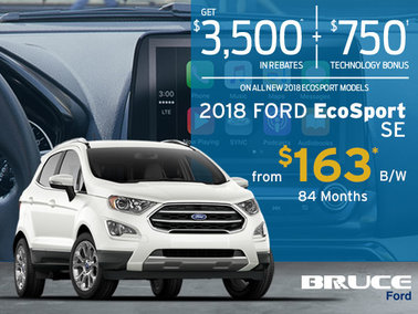 Finance the 2018 Ford EcoSport SE