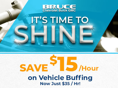Vehicle Buffing Now Only $35 / Hr!