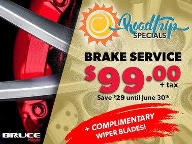 Roadtrip Brake Service Special