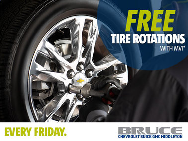 Every Friday: Free Tire Rotations on MVI