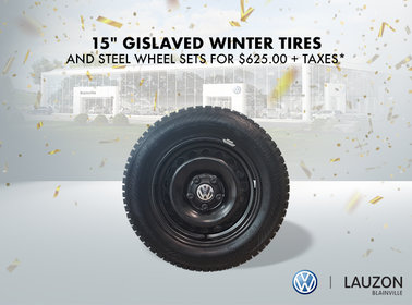 Winter Tires Opening Special