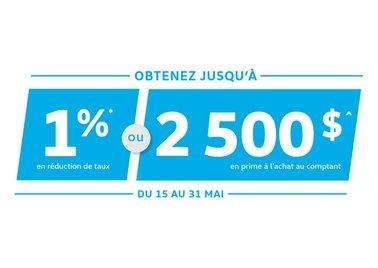 Réduction de taux de 1% sur les Jetta